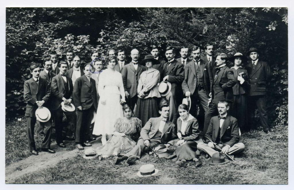 Srpski student u Klermon-Feranu, 1917.godine