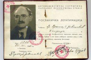 poslanicka legitimacija