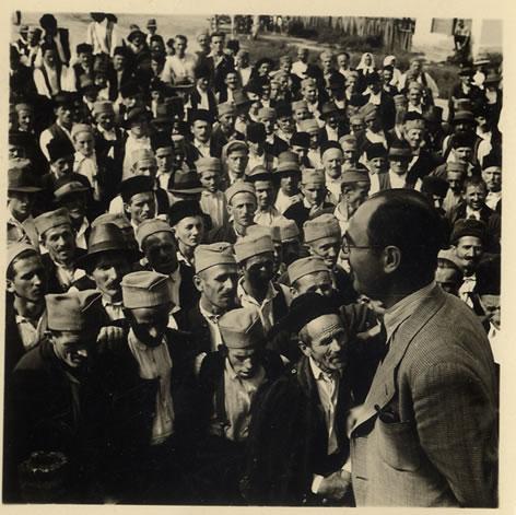 Sa zbora u Mojkoviću, avgusta 1938.godine