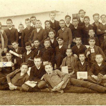 1910.god IV razred Pirotske gimnazije