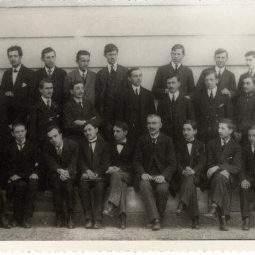 1914.god maturanti II Beogradske gimnazije