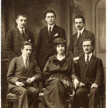 1918.god sa budućom suprugom u Parizu