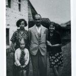 1933. god internacija Tutin, sa porodicom